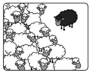 Personen-Recherche: Das schwarze Schaf identifizieren